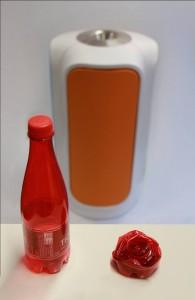 Green Creative : R3D3 poubelle qui trie et compacte vos déchets
