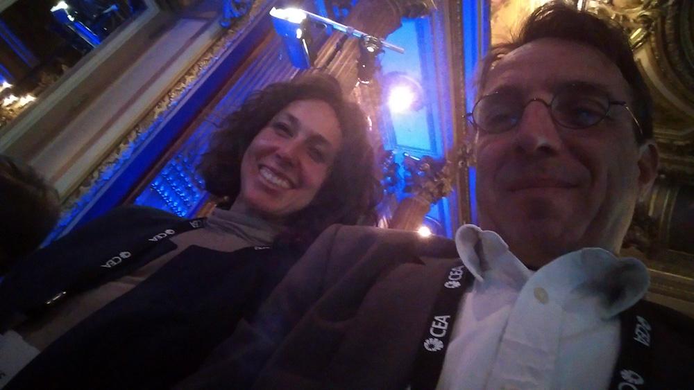 L'équipe Dawaq au CES Unveiled de Paris