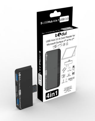 Bidul : Hub 4 in 1 Surface