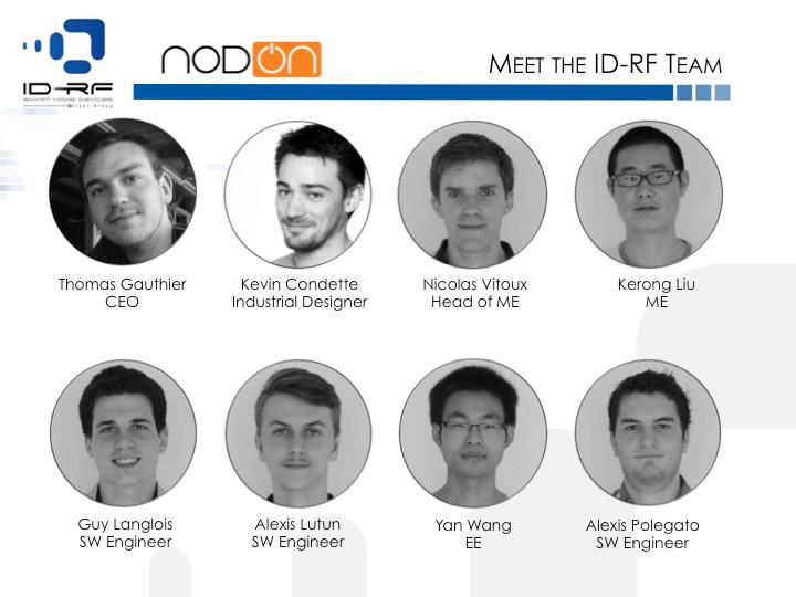 ID-RF NodOn : L'équipe