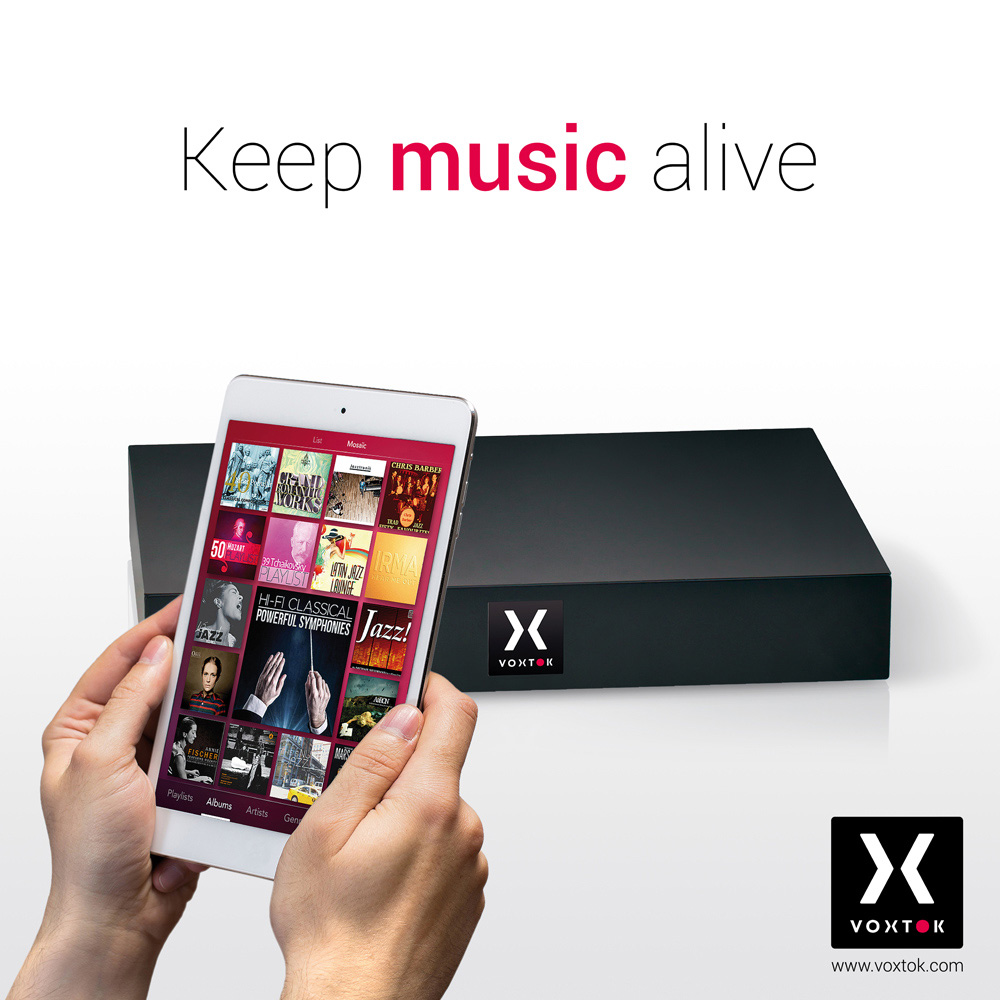 Capsule Audio Voxtok : Keep your music alive