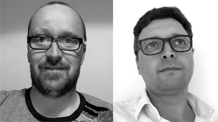 Les fondateurs de Voxtok Joël Reboul et Jean-Charles Verdié