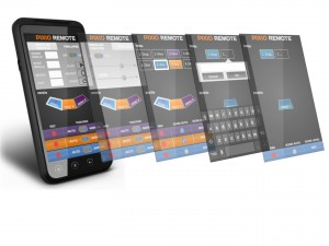 Interface appli smartphone HD
