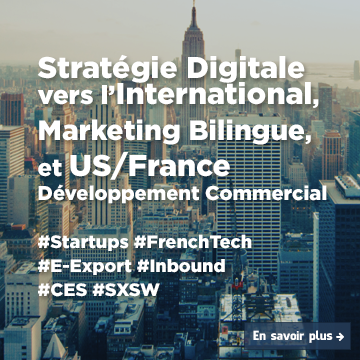 Stratégie Digitale vers l'International, Marketing Bilingue et Us/France Développement Commercial